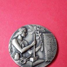 Médailles thématiques: MEDALLA PLATA TREINTA Y CINCO ANIVERSARIO DEL CIRCULO FILATELICO Y NUMISMATICO BARCELONA.CFN.1959. Lote 135103302