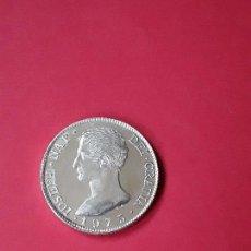 Médailles thématiques: MEDALLA PLATA JOSE NAPOLEON . CONVENCION NUMISMATICA 1975.. Lote 175884917
