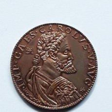 Médailles thématiques: MEDALLA COBRE CARLOS I . CONVENCION NUMISMATICA 1976.. Lote 135114110