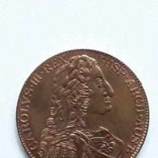 Médailles thématiques: MEDALLA COBRE CARLOS III ARCHIDUQUE DE AUSTRIA . CONVENCION NUMISMATICA 1977.. Lote 135114490