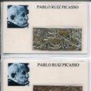 Medallas temáticas: GUERNICA- PABLO RUIZ PICASSO- 2 EJEMPLARES- RARO. Lote 135748898