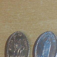 Medallas temáticas: 2 MEDALLAS NEWS YORK. Lote 136113937