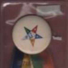 Medallas temáticas: MEDALLA MASONICA - MASÓN - 37 AND ANNUAL SESIÓN DEBORAHGRAND CHAPTER O.E.S. 1954. Lote 136133890