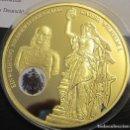 Medallas temáticas: BONITA MONEDA DEL KAISER WILHELM I CON EL ESCUDO DE PRUSIA SOBRE LA MONEDA HISTORIA ALEMANIA. Lote 89915719
