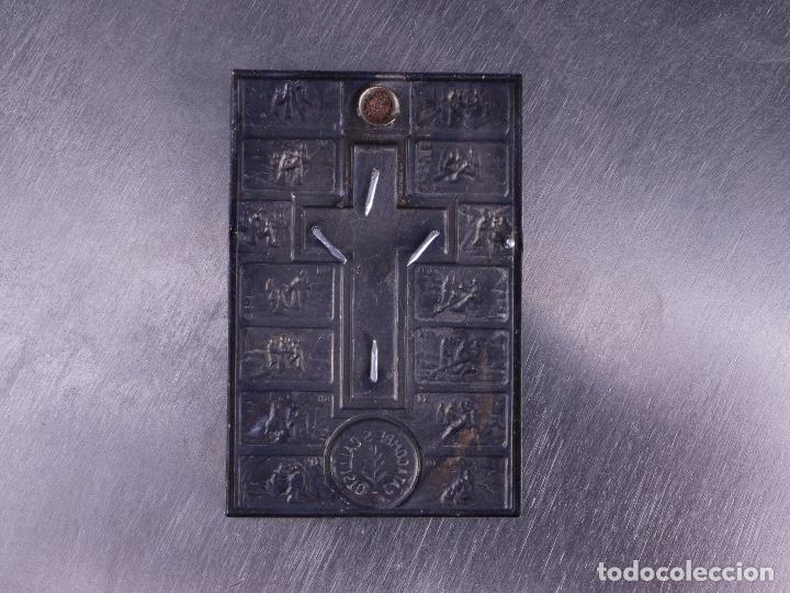 Medallas temáticas: COLGANTE CON VIACRUCIS SAN CALLISTO CATACUMBE - Foto 2 - 136808358