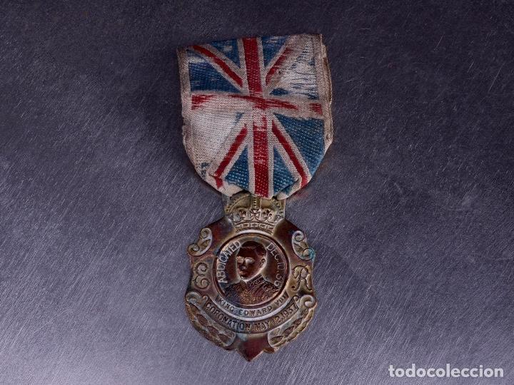REY EDWARD VIII. ABDICACIÓN 1936-37 (Numismática - Medallería - Temática)