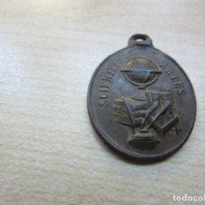 Medallas temáticas: PRECIOSA MEDALLA A LA APLICACIÓN. SCIENTIAE ARTES . POSIBLE S XIX O PRINCIPIOS XX. Lote 137748274
