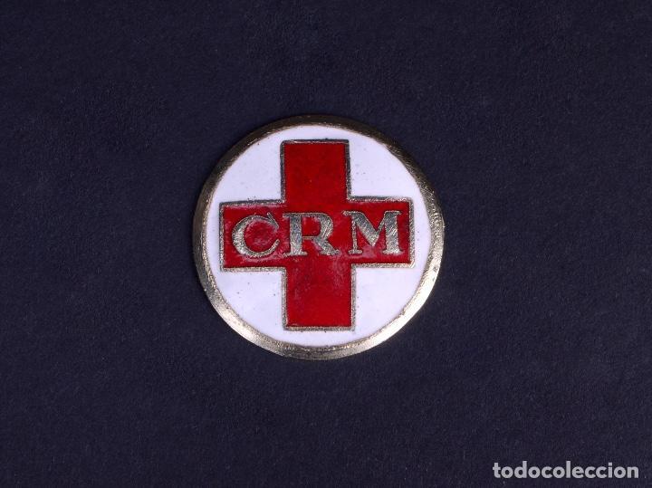 DISTINTIVO CRUZ ROJA DE MADRID (Numismática - Medallería - Temática)