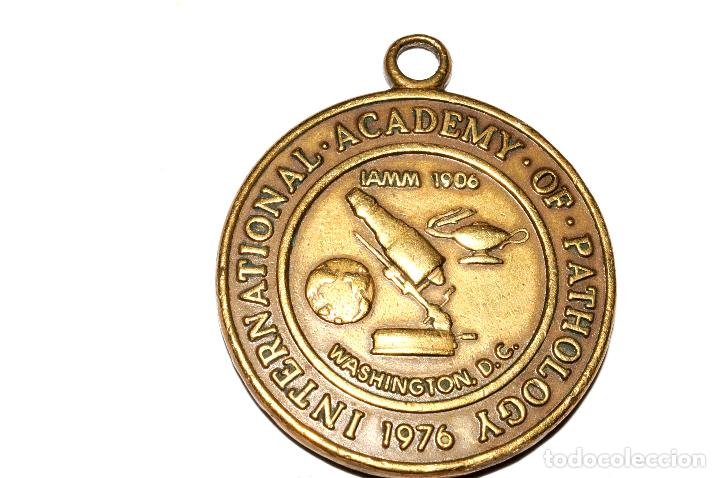 MEDALLA DE BRONCE - INTERNATIONAL ACADEMY OF PATHOLOGY 1976 - UNITED STATES OF AMERICA (Numismática - Medallería - Temática)
