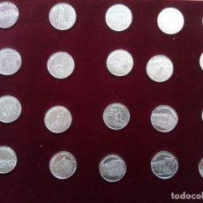 Medallas temáticas: 20 MONEDAS — MEDALLAS PLATA CASTILLA Y LEON.. Lote 138866590