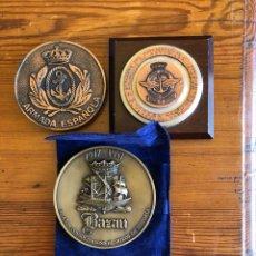 Medallas temáticas: LOTE DE 3 MEDALLAS MILITARES. Lote 138879125
