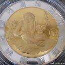 Medallas temáticas: MUY BONITA MONEDA PLATA DEL HOROSCOPO CHINO CHIMPANCÉ EN SU CAPSULA DE PROTECCION Y CERTIFICADO. Lote 139381014