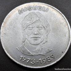 Medallas temáticas: MEDALLA PLATA MIGUELI FCB. Lote 139482370