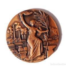 Medallas temáticas: MEDALLA PREMIO A LA LABOR - ELS COMPANYS DE LA CASA ROSAL 1973. Lote 139528966