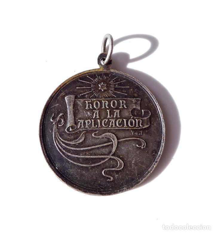 Medallas temáticas: MEDALLA.- HONOR A LA APLICACION. - Foto 2 - 139529790