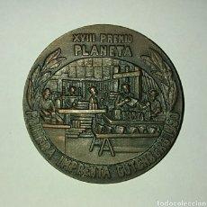 Medallas temáticas: MEDALLA PREMIO PLANETA 1969,. Lote 139541469