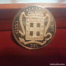 Medallas temáticas: ALMERÍA. MEDALLA DE PLATA PURA 25 GRAMOS. CONTRASTADA 999 MILÉSIMAS. Lote 140402362