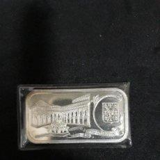 Medallas temáticas: ALHAMBRA. PATIO DE LOS LEONES. PLATA PURA 999.. Lote 140430042