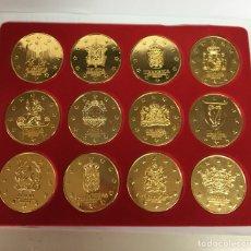 Medallas temáticas: MEDALLAS CONMEMORATIVAS UNIÓN EUROPEA. Lote 140459697