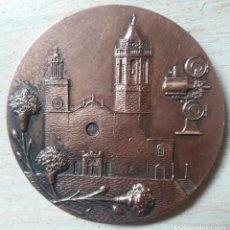 Medallas temáticas: MEDALLA VI FESTIVAL CINE FANTASTICO Y DE TERROR-SITGES-5 CMS-1973-DIFICIL. Lote 140570162