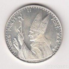 Medallas temáticas: MEDALLA RELIGIOSA EN PLATA 16,20GR-35MM. JUAN PABLO II PONT.MAX (IMPORTANTE VISITAR REVERSO). S/C. Lote 140572230
