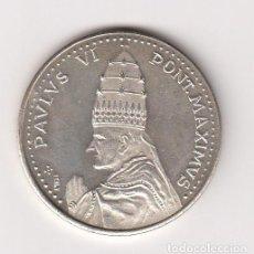 Medallas temáticas: MEDALLA RELIGIOSA EN PLATA 16GR-34MM. PABLO VI PONT.MAXIMVS (REVERSO-AÑO SANTO 1975 ROMA). S/C. Lote 140572926