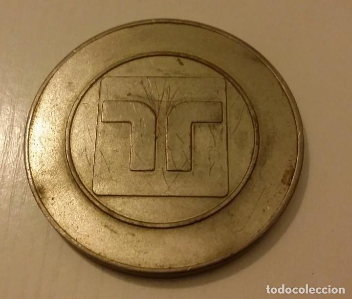 Medallas temáticas: MEDALLA DE LA REFINERÍA DE PETRÓLEO DE CARDÓN EN PARAGUANÁ. VENEZUELA. MARAVEN 1976 - Foto 5 - 140605138