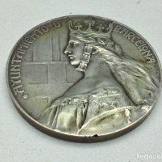Medallas temáticas: MEDALLA AYUNTAMIENTO DE BARCELONA - CONCEJAL JUAN ROVIRA - POLITICO CATALAN 1932 - FUSILADO 1936 -. Lote 142263786