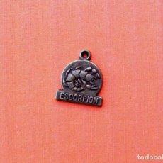 Medallas temáticas: PEQUEÑA MEDALLA DEL HOROSCOPO, ESCORPION . Lote 142439966