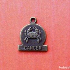 Medallas temáticas: PEQUEÑA MEDALLA DEL HORASCOPO, CANCER. Lote 142446030