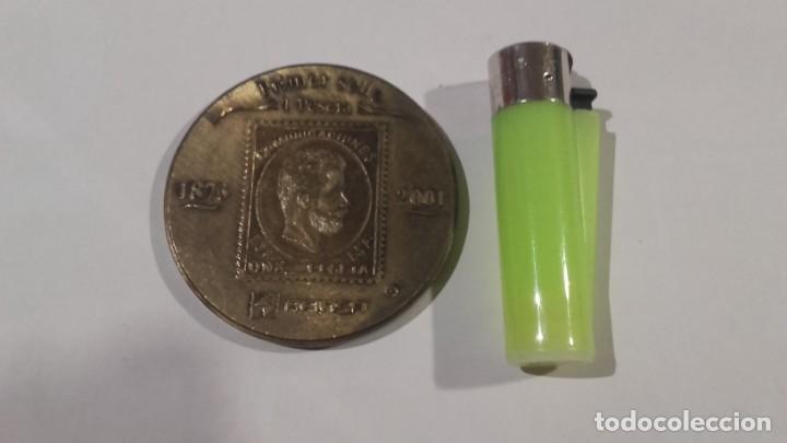 Medallas temáticas: Medalla - Medallón Afinsa 2001 con su funda original - Diámetro 6 cm - Foto 3 - 142451198