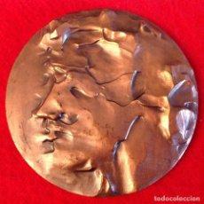 Medallas temáticas: MEDALLA DE BRONCE, OPINIONES DE UN MODELO, 80 MM. DE DIÁMETRO, FNMT 1985. Lote 161589565