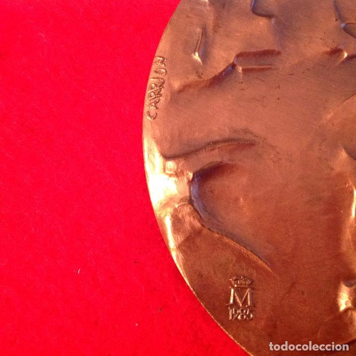 Medallas temáticas: Medalla de bronce, Opiniones de un modelo, 80 mm. de diámetro, FNMT 1985 - Foto 3 - 161589565