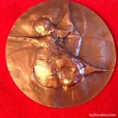 Medallas temáticas: MEDALLA DE BRONCE, COMUNICACIÓN I, 80 MM. DE DIÁMETRO, FNMT, 1986, NUEVA.. Lote 161589594