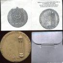 Medallas temáticas: PRECIOSA MEDALLA CATEDRAL DE LEON, VII CENTENARIO AL CULTO DE LA CATEDRAL. PESA 192 G, Y MIDE 70 M/M. Lote 144253482