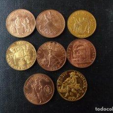 Medallas temáticas: MEDALLAS CON PROVERBIOS ALEMANES . Lote 144319598