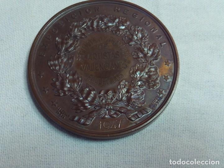 Medallas temáticas: medalla sociedad economica de amigos del pais valencia,segunda de pintura de artistas valencianos - Foto 2 - 146200754