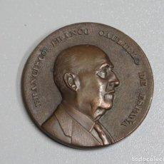 Medallas temáticas: MEDALLA DE LA FUNDACION NACIONAL FRANCISCO FRANCO. PRIMER ANIVERSARIO. 20-XI-1976. Lote 146339586