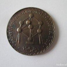 Medallas temáticas - BELGICA * MEDALLA EXPOSICION UNIVERSAL BRUSELAS 1958 - 146531326