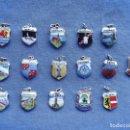 Medallas temáticas: COLECCIÓN DE 17 PEQUEÑAS MEDALLAS DE PLATA, TODAS CON CONTRASTE. Lote 146548370