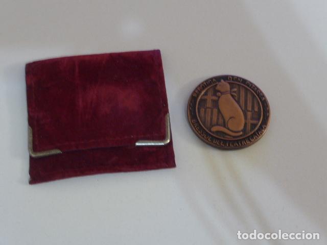 ANTIGUA MEDALLA CATALANA DE CENTENARI PITARRA, BRESSOL DEL TEATRE CATALÀ. TEATRO. (Numismática - Medallería - Temática)