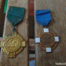 Medallas temáticas: 2 MEDALLAS DE COLEGIO ?? PREMIO A LA APLICACION. Lote 147128782
