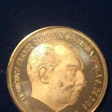 Medallas temáticas: MEDALLA FRANCISCO FRANCO CAUDILLO DE ESPAÑA EN COBRE 1892-1975. Lote 147530186
