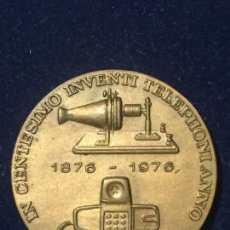 Medallas temáticas: MEDALLA COMPAÑIA TELEFONICA NACIONAL DE ESPAÑA AÑO 1976.. Lote 147533342