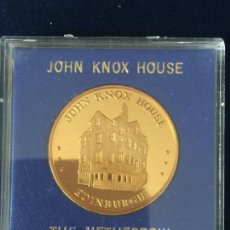 Medallas temáticas: MEDALLA JOHN KNOX HOUSE / THE NETHERBOW.. Lote 147681050