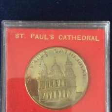 Medallas temáticas: MEDALLA ST. PAUL´S CATHEDRAL / SOLID PROOF MEDALLION.. Lote 147681150