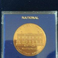 Medallas temáticas: MEDALLA NATIONAL / MARITIME MUSEUM.. Lote 147682110