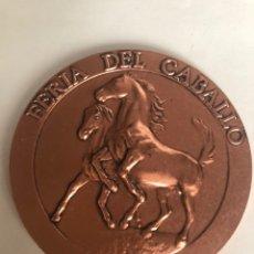 Medallas temáticas: JEREZ-FERIA DEL CABALLO-MEDALLA BRONCE.. Lote 147685878