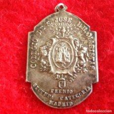 Medallas temáticas: ANTIGUA MEDALLA COLEGIO SAN JOSÉ, HH. MARISTAS DE MADRID, PREMIO SEGUNDA CATEGORÍA,. Lote 147835672