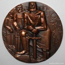 Medallas temáticas: MEDALLA DE COBRE DE LA FNMT. RIO LLOBREGAT. ESCULTOR SOMOZA. Lote 148304326